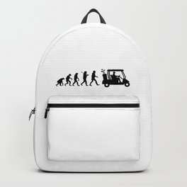 Evolution - golf  black&white Backpack