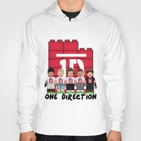 1d Hoodies featuring Lego: One Direction 1D by Akyanyme