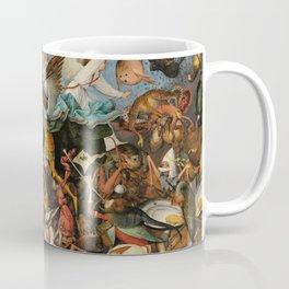 The Fall of the Rebel Angels, 1562 by Pieter Bruegel the Elder Coffee Mug