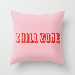 Chill Zone Throw Pillow