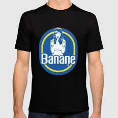 Banane Mens Fitted Tee Black LARGE