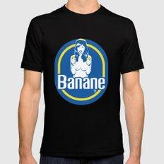 Banane MEDIUM Mens Fitted Tee Black