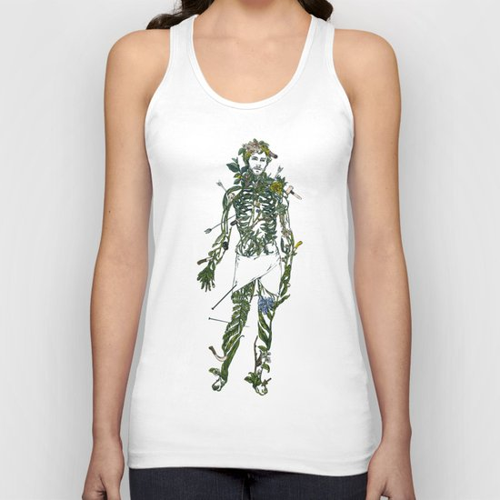 Wound Man Unisex Tank Top