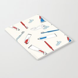 Toothpaste & Toothbrush Notebook