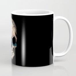 Dark Skull with Flag of Finland Coffee Mug