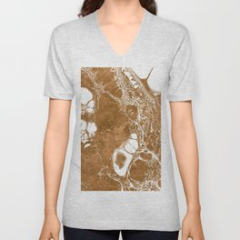 Wonderful Splatter A Unisex V-Neck
