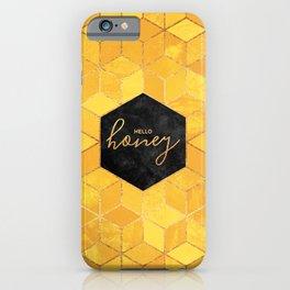 Hello Honey iPhone Case