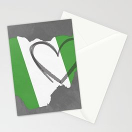NIGERIAN LOVE Stationery Cards