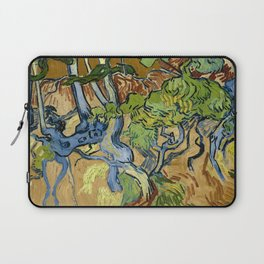 Tree Roots by Vincent van Gogh (July 1890) Laptop Sleeve