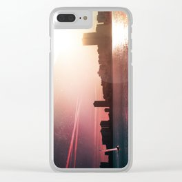 Sailing Into Daylight Clear iPhone Case