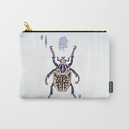Happy Goliath beetle Carry-All Pouch