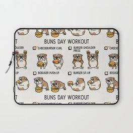 Buns Day Workout Laptop Sleeve
