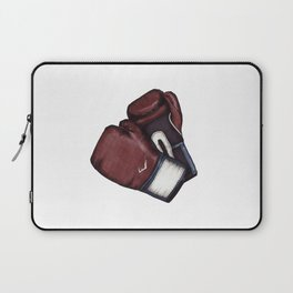 For the love of Boxing // RED & BLUE Laptop Sleeve