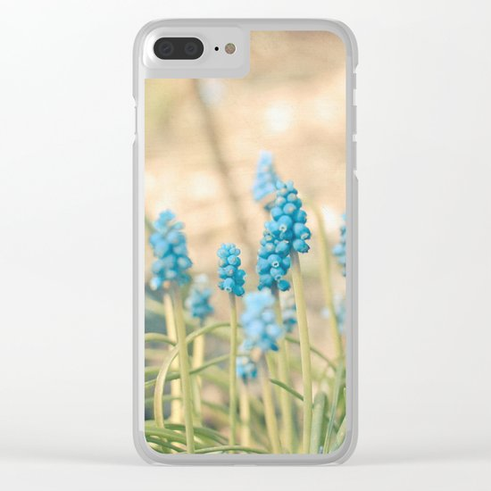Forest of Blue Clear iPhone Case