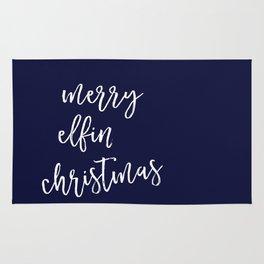 Merry Elfin' Christmas Rug