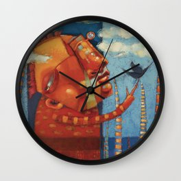 Dreamer. (Not The Only One.) Wall Clock
