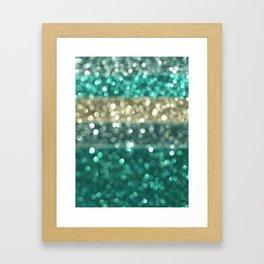 Ombre Blue... Framed Art Print