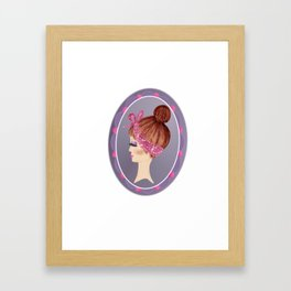 Send me a selfie my dear Framed Art Print