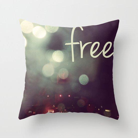 free II Throw Pillow