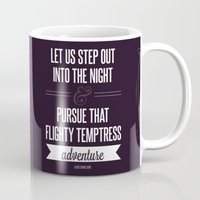 snape Mugs featuring Adventure by Dorothy Leigh