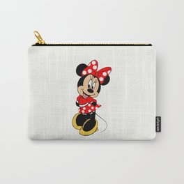 Cute Minnie Mouse Carry-All Pouch