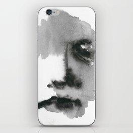 Face Blot iPhone Skin