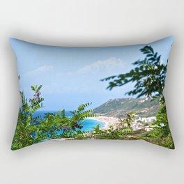 The Sea and Mountains Rectangular Pillow