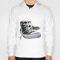 converse Hoodies featuring Converse by Jake Fishkind