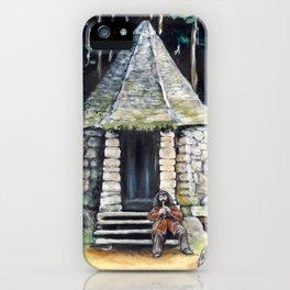 Hagrid's hut  iPhone Case