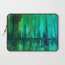 Green reflection Laptop Sleeve
