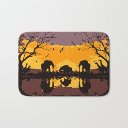 Safari tour Bath Mat