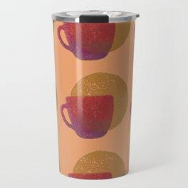 Cups in Sunset Shades Travel Mug