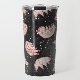 Tardigrades in Space Travel Mug