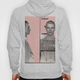 PINKY BOWIE ARRESTED Hoody