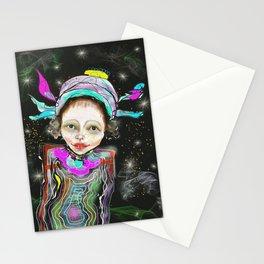 spacegirl Stationery Cards