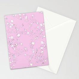 Terrazzo: Pink Stationery Cards