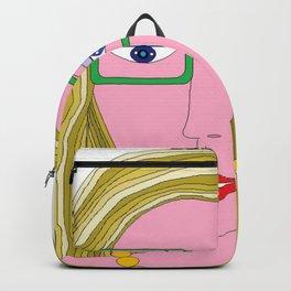 Golden Hair Backpack