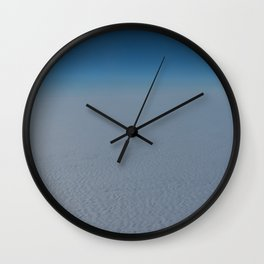 Flying high above the clouds Wall Clock