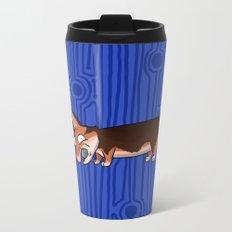Corgi Metal Travel Mug