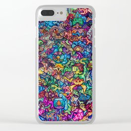 Seemingly Random Tendencies Clear iPhone Case