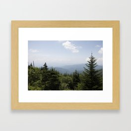 Smoky Mountains Framed Art Print