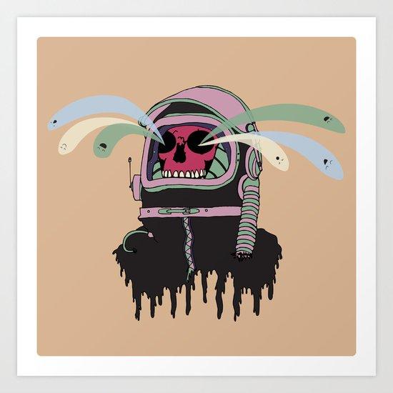 Dead Space: The Spirits Escape Art Print