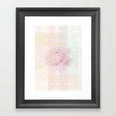 SWEET ROSE Framed Art Print
