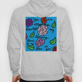 Floral Song of Solomon 4:7 Hoody