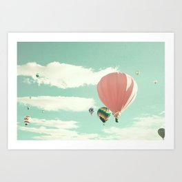 Flight of the Redneck Cowboy Art Print