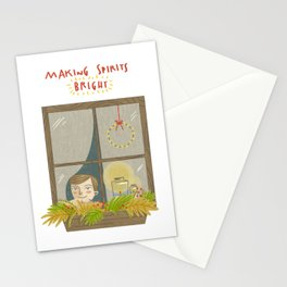Making Spirits Bright Stationery Cards
