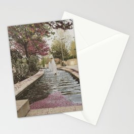 Petal Fountain Stationery Cards