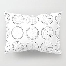 Sniper Scope Targets Pillow Sham