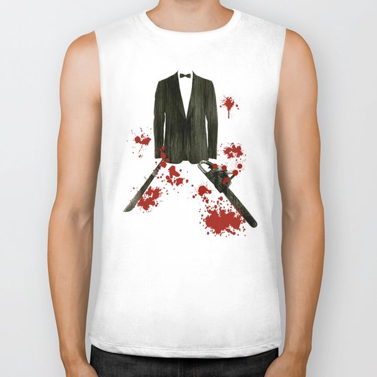 Smoking kills! Biker Tank