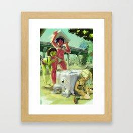 Summer Girls 4.0 Framed Art Print